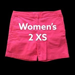 IZOD 2 XS Shorts Chino Khakis Pink Stretch EUC